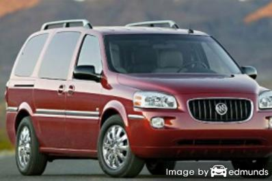 Insurance rates Buick Terraza in Denver