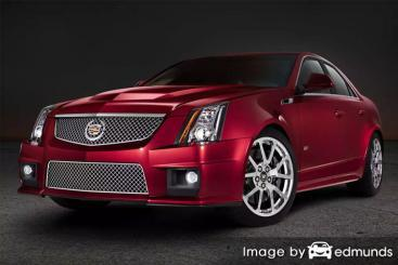 Insurance quote for Cadillac CTS-V in Denver
