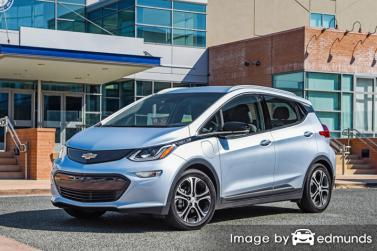 Chevy Bolt EV Insurance Rates in Denver, CO