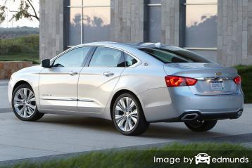 Insurance rates Chevy Impala in Denver