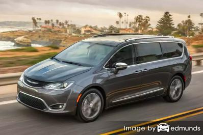 Insurance quote for Chrysler Pacifica in Denver