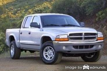 Insurance rates Dodge Dakota in Denver