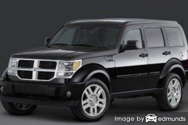 Insurance rates Dodge Nitro in Denver