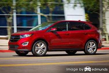 Insurance rates Ford Edge in Denver