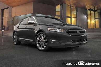 Insurance quote for Ford Taurus in Denver
