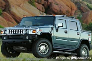 Insurance quote for Hummer H2 SUT in Denver