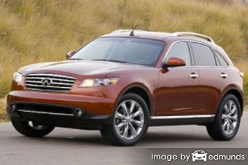 Insurance quote for Infiniti FX45 in Denver