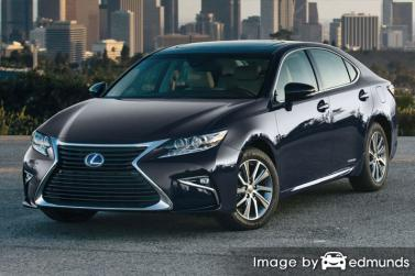 Insurance quote for Lexus ES 300h in Denver