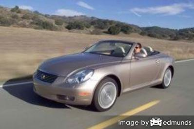 Insurance quote for Lexus SC 430 in Denver