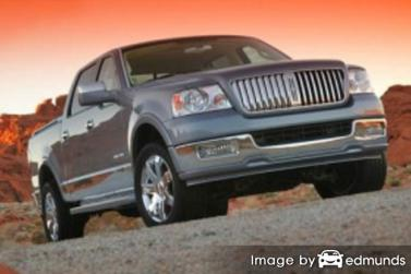 Insurance rates Lincoln Mark LT in Denver