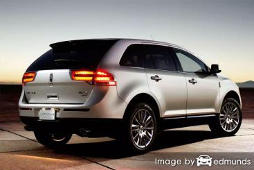 Insurance quote for Lincoln MKX in Denver
