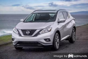 Insurance rates Nissan Murano in Denver