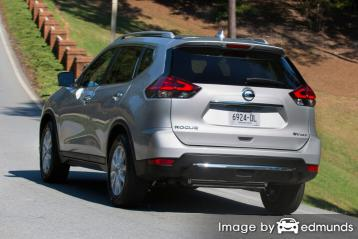 Insurance rates Nissan Rogue in Denver
