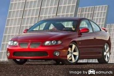 Insurance quote for Pontiac GTO in Denver