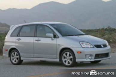 Insurance quote for Suzuki Aerio in Denver