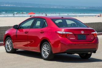 Insurance quote for Toyota Corolla in Denver