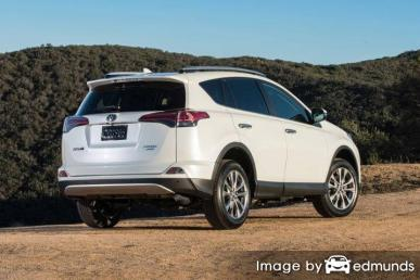 Insurance quote for Toyota Rav4 in Denver